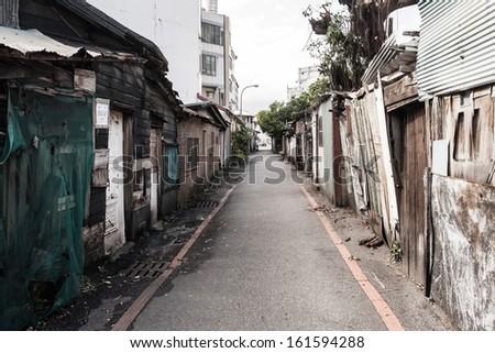 Street view Stockfoto ©