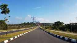 Street view in Dompak Island