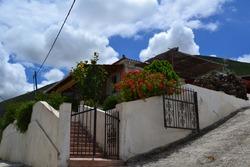 Street view in Zante, Greece
