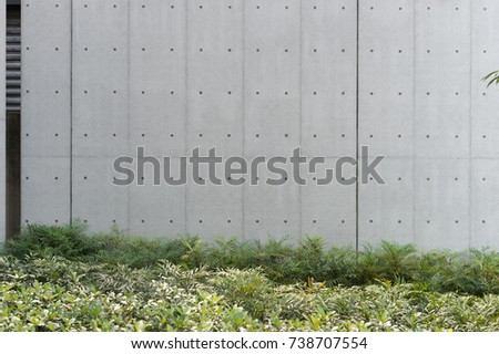 street wall background ,Industrial background, empty grunge urban street with warehouse brick wall #738707554