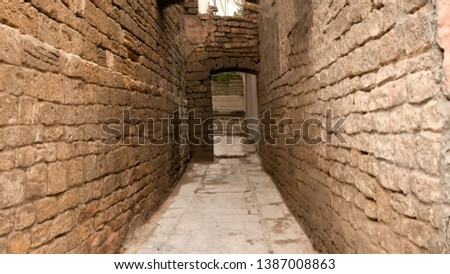 Streets, lanes and courtyards of the capital of Azerbaijan, the city of Old Baku
