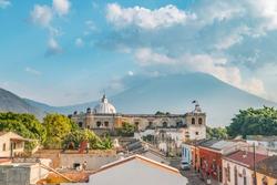 Streets of Antigua, Guatemala, Central America