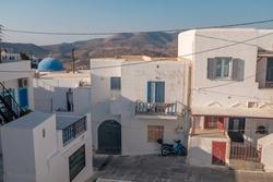 Streets of Ios Island Cyclades Greece