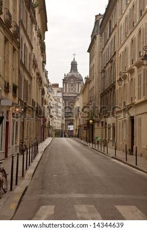 Streets of Paris.