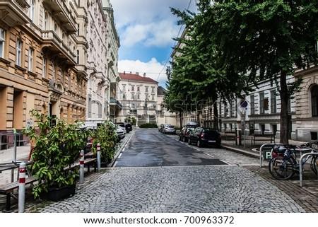 Streets of Vienna Stockfoto ©