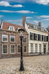 streetscene Dutch historic houses