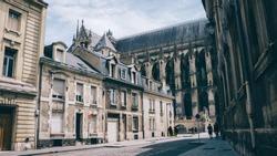 Streetscene in Reims