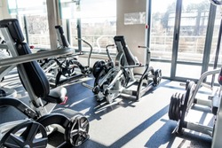 Strength Exercise Area at the Sports Center