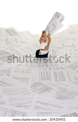 Stress by bureaucracy and paper filing
