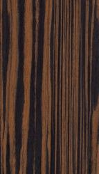 Striated ebony wood veneer. Natural texture background