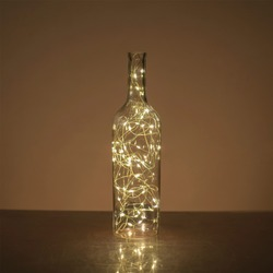 String Lights in bottle, Copper Wire Lights Star Fairy Lights Ideal Decorative