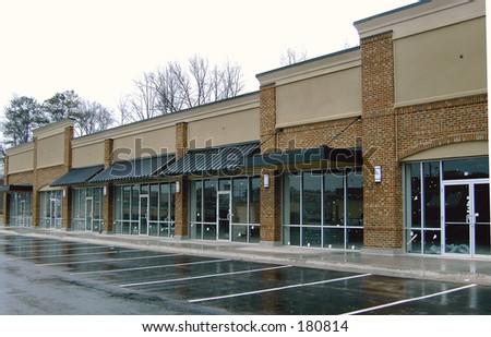 Strip Shopping Center