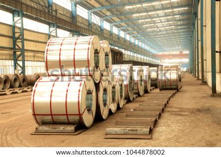 Strip steel production workshop, Strip steel product