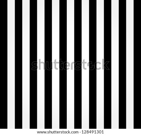 striped black and white...