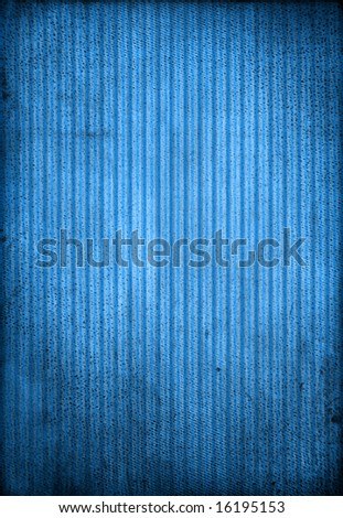 Striped blue background, lighten grungy blue