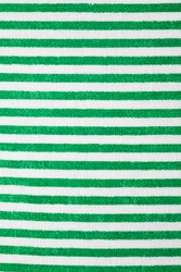striped cloth with green and white pattern