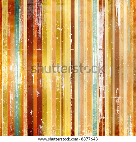 striped colored background in grunge style - stock photo