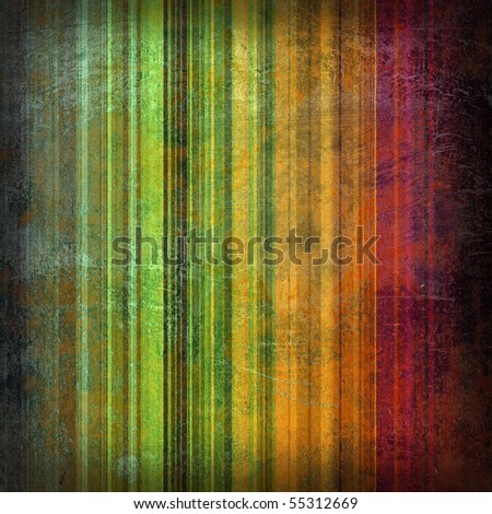 Striped dirty background with paint stains