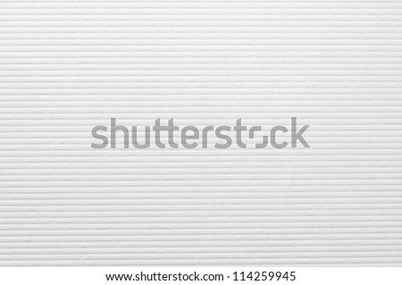 Striped embossed paper