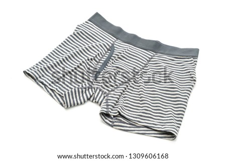 6c7b89a58034 striped men underwear isolated on white background