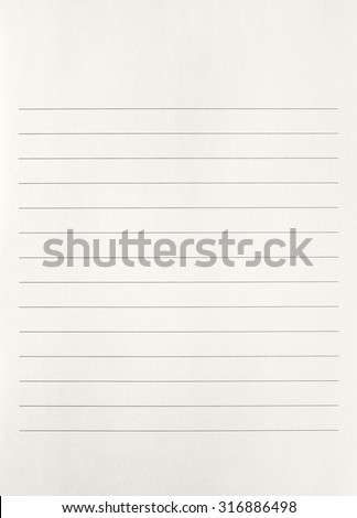 Striped notebook paper texture,notebook paper background