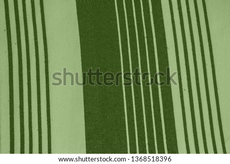 Striped pattern with stylish colors. Green and white stripes. Greenery background for design in a vertical strip #1368518396