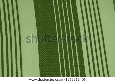 Striped pattern with stylish colors. Green and white stripes. Greenery background for design in a vertical strip #1368518405