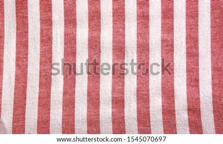 Striped red and white background. Chess pattern of horizontal stripes. Trendy pink color #1545070697