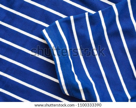 Striped Round Short Sleeve T-shirt #1100333390