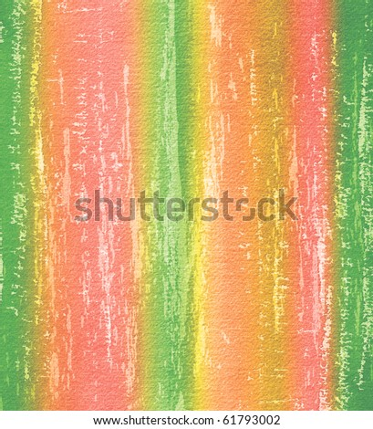 Striped watercolor background in grunge style