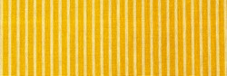 Striped yellow white fabric texture. Linen cloth surface as Easter Yellow cloth background. Living yellow linen fashion , banner