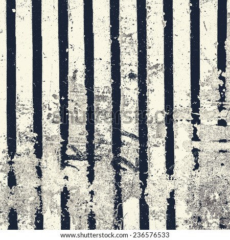Stripped Background in grunge style. Grunge surfaced  background, street style, vertilal lines