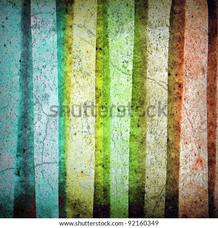 stripped grunge pattern ; rough paper
