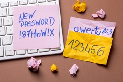 Strong and weak password. Time to change the access password.
