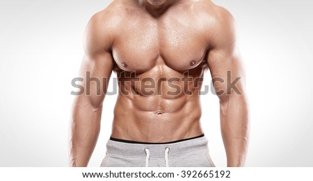 Find royalty free sixpack images hd stock photos and picture strong athletic man showing six pack altavistaventures Gallery