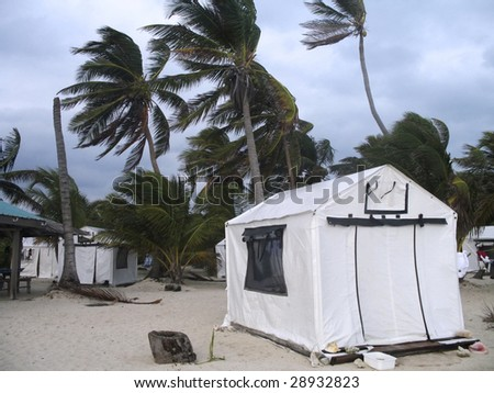 Strong winds in Belize
