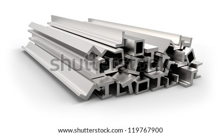 Structural metal shapes