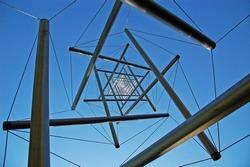 Structure in Kroller Muller museum, Netherlands