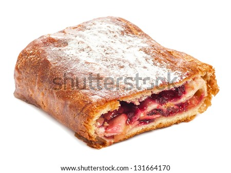 strudel apple and cowberry