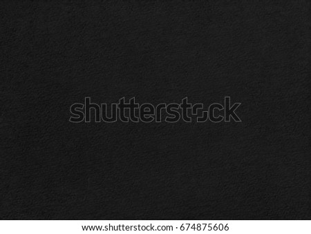 Stucco black paper page ornament decorated emboss surface. Landscape orientation texture background - Shutterstock ID 674875606