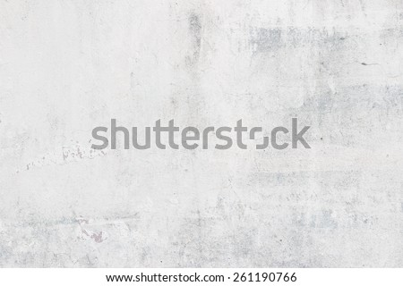 Stucco white wall background or texture - Shutterstock ID 261190766