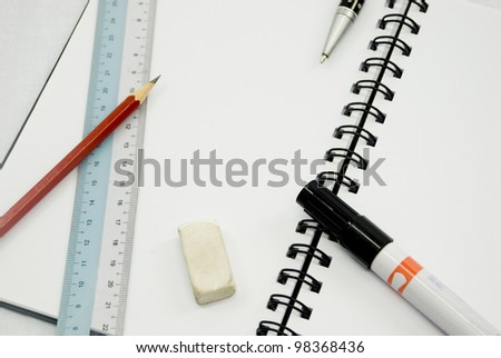 Student and office stationery for writing purposes