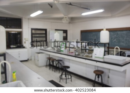 student class room  science lab