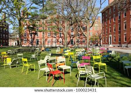 Student dorms in Harvard Yard
