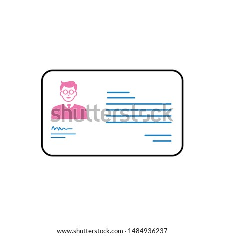 student id card design new