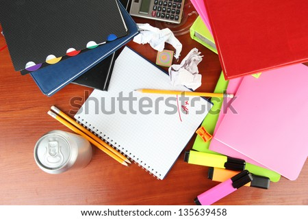 Student's workplace