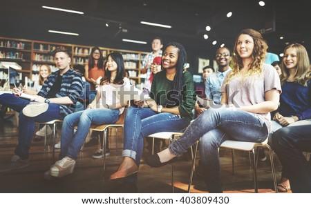 Student Study Classmate Classroom Lecture Concept