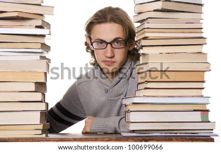 Student Studying for Exams