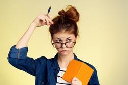 student thinks, study, knowledge, university