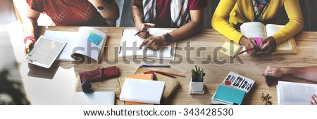 Students School Studying Learning Education Concept